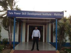professor praveen singh at tata power skill development conducting an in house soft skills training course