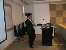 soft-skills-training-by-professor praveen singh in company premises in mumbai