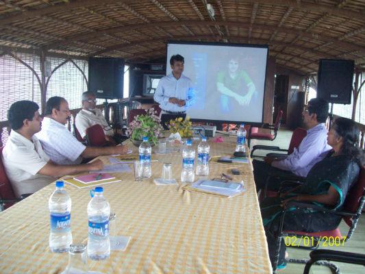 In-house Presentation and platform skills training